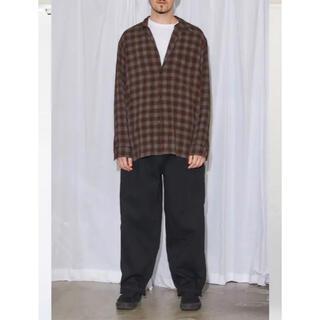 COMOLI - comoli レーヨンオープンカラーシャツ サイズ1