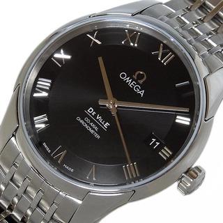 オメガ(OMEGA)のオメガ OMEGA デビル コーアクシャル 腕時計 メンズ【中古】(金属ベルト)
