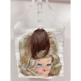 アチャチュムムチャチャ(AHCAHCUM.muchacha)の未使用 あちゃちゅむ 髪の毛 トートバッグ エコバッグ(トートバッグ)