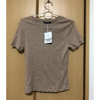 ザラ(ZARA)の早い物勝ち!【新品】zara  ベーシックTシャツ レディース (Tシャツ(半袖/袖なし))