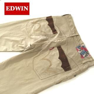 エドウィン(EDWIN)のEDWIN クロップドストレッチチノパンツW30約82cm(チノパン)