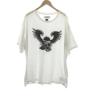 ファセッタズム(FACETASM)のファセッタズム Tシャツ カットソー プルオーバー 半袖 ロゴ 00 XS 白(Tシャツ/カットソー(半袖/袖なし))