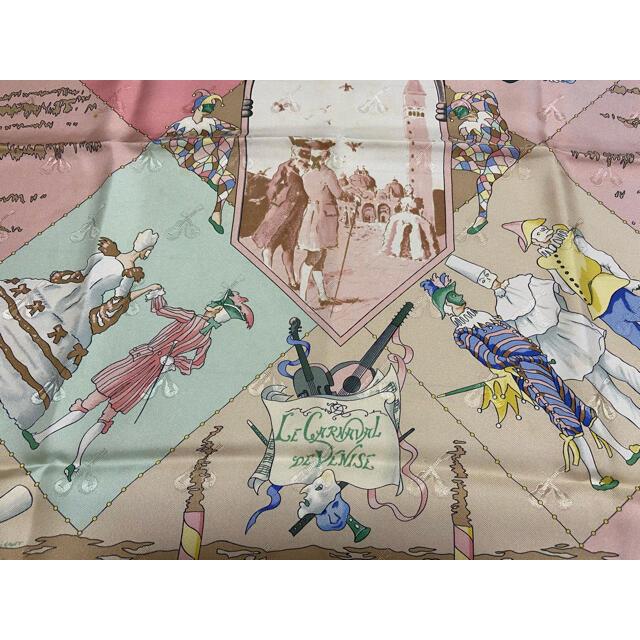 Hermes(エルメス)のエルメススカーフカレ90 レディースのファッション小物(バンダナ/スカーフ)の商品写真