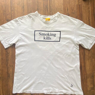 VANQUISH - FR2 VANQUISH  smoking kills Tシャツ