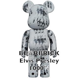 メディコムトイ(MEDICOM TOY)のBE@RBRICK Andy Warhol's ELVIS PRESLEY(フィギュア)