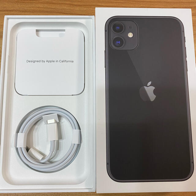iPhone(アイフォーン)のiPhone純正コード ケーブル スマホ/家電/カメラのスマートフォン/携帯電話(バッテリー/充電器)の商品写真