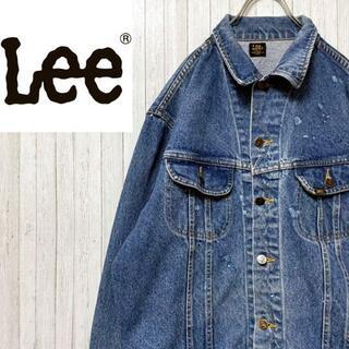 アイスクリーム(EYESCREAM)のLee リー 70's カナダ製 デニムジャケット Gジャン ヴィンテージ(Gジャン/デニムジャケット)