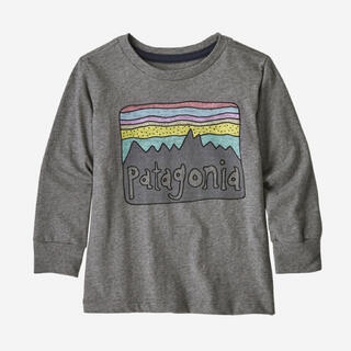patagonia - patagonia ベビー・ロングスリーブ・グラフィック・オーガニック・Tシャツ