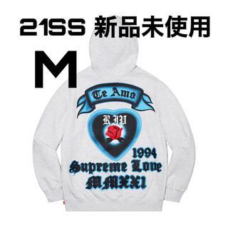 シュプリーム(Supreme)のSupreme Love Hooded Sweatshirt Mサイズ(パーカー)