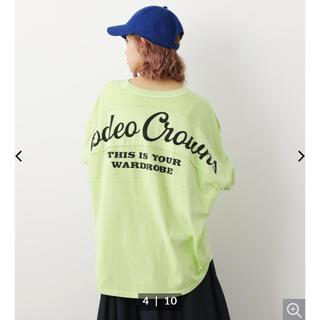 RODEO CROWNS WIDE BOWL - ロデオクラウンズワイド CURVE L/S Tシャツ 長袖Tシャツ 新品