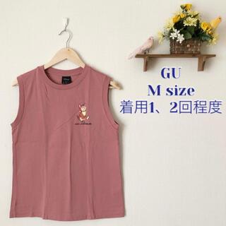 ジーユー(GU)のGU✨ グラフィックT(ノースリーブ)Disney SD+E(Tシャツ(半袖/袖なし))