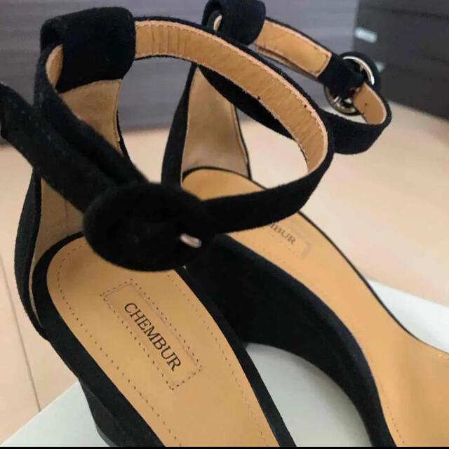 PELLICO(ペリーコ)のCHEMBUR ストラップウェッジサンダル 35 チェンバー デミルクスビームス レディースの靴/シューズ(サンダル)の商品写真