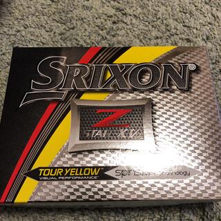 スリクソン(Srixon)の【新品未使用】スリクソン Z-STAR ゴルフボール 1ダース(その他)