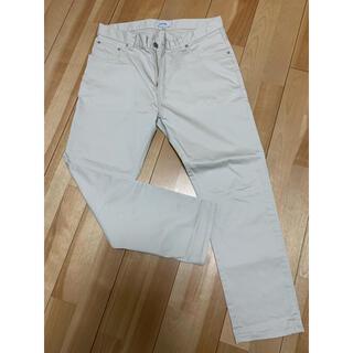 BEAMS - ビームス チノパン パンツ 白色 メンズ Lサイズ