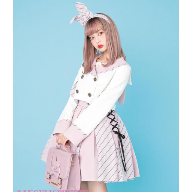 Angelic Pretty(アンジェリックプリティー)のBunny  college formal set レディースのワンピース(ひざ丈ワンピース)の商品写真
