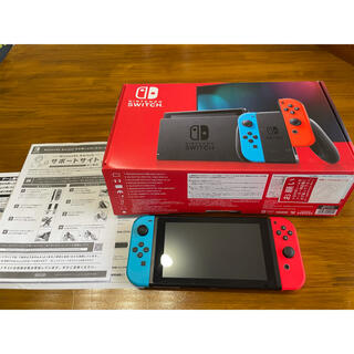 ニンテンドースイッチ(Nintendo Switch)のSwitch本体 美品(家庭用ゲーム機本体)