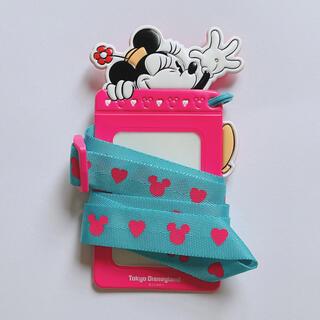 ディズニー(Disney)のミニーのパスケース(パスケース/IDカードホルダー)