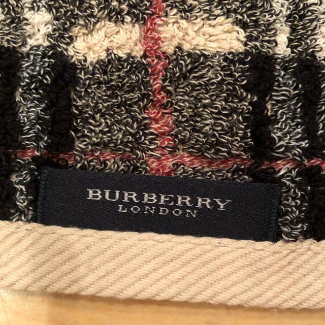 BURBERRY(バーバリー)のバーバリー ロンドン フェイスタオル インテリア/住まい/日用品の日用品/生活雑貨/旅行(タオル/バス用品)の商品写真