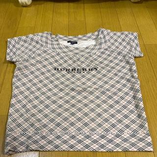 BURBERRY - バーバリーロンドン ノバチェック ロゴ カットソー Tシャツ