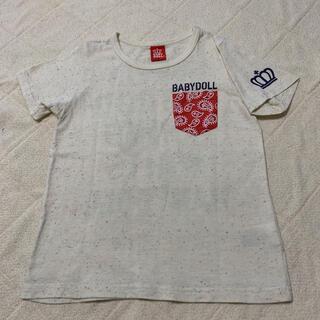 ベビードール(BABYDOLL)のBABY DOLL 半袖Tシャツ(アイボリー)★ サイズ130(Tシャツ/カットソー)