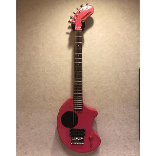 フェルナンデス(Fernandes)のZO-3 ピンク フェルナンデス エレキギター メンテナンス済み(エレキギター)