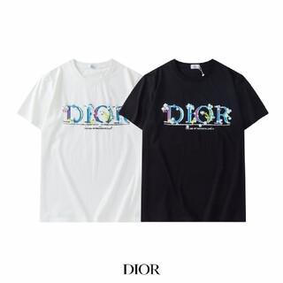 Dior - 2を買って1を贈ります!!♥Tシャツ半袖ディオール Dior男女兼用12