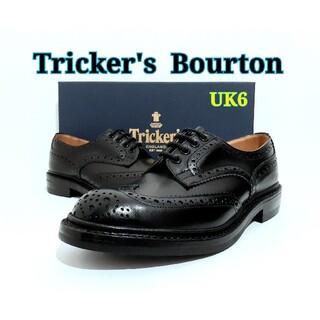 Trickers - 新品 Tricker's Bourton UK6 トリッカーズ バートン 黒