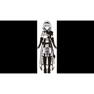 【ホロライブ】(白銀ノエル)カッティングステッカー(その他)
