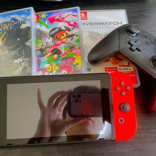 ニンテンドースイッチ(Nintendo Switch)のSwitch モンハンセット(家庭用ゲーム機本体)