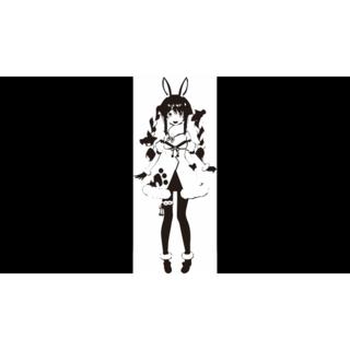 【ホロライブ】(兎田ぺこら)カッティングステッカー(その他)