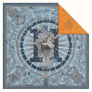エルメス(Hermes)のレア✨国内完売品✨HERMES スカーフ ダブルフェイス セラフェット 新品(バンダナ/スカーフ)