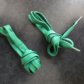 プーマ(PUMA)のPUMA 靴紐 メンズ グリーン(その他)