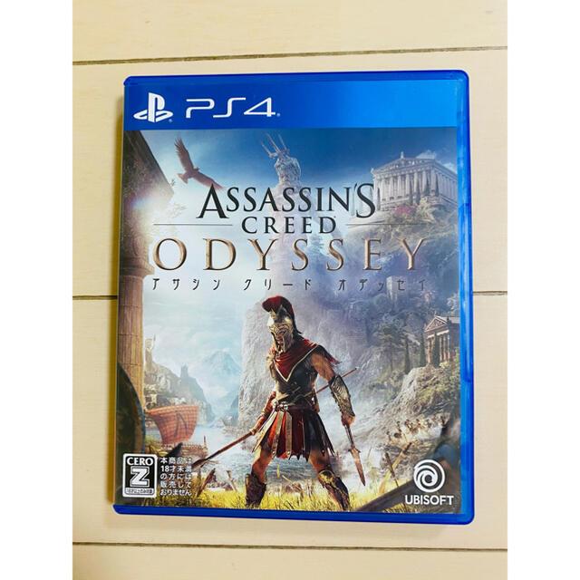 PlayStation4(プレイステーション4)のアサシン クリード オデッセイ PS4 アサシンクリード オデッセイ エンタメ/ホビーのゲームソフト/ゲーム機本体(家庭用ゲームソフト)の商品写真
