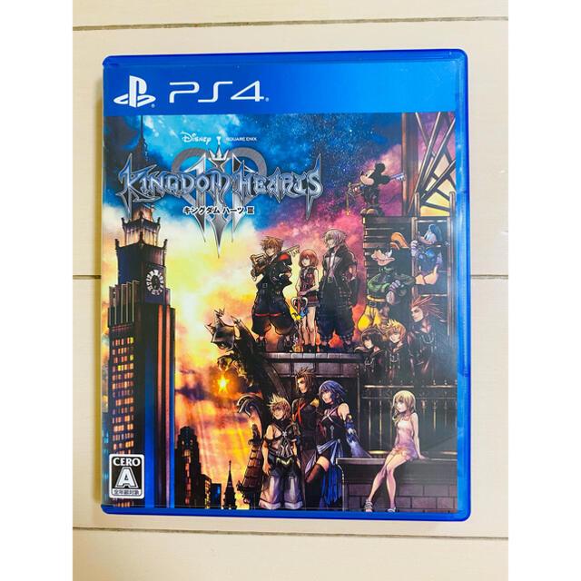 PlayStation4(プレイステーション4)のキングダム ハーツIII PS4 ゲームソフト キングダムハーツ3 エンタメ/ホビーのゲームソフト/ゲーム機本体(家庭用ゲームソフト)の商品写真