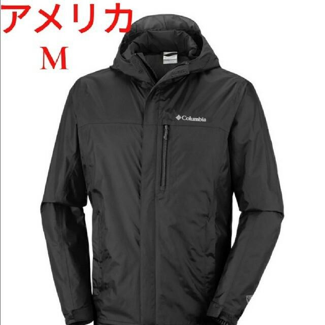 Columbia(コロンビア)の【黒色】Columbia Pouring Adventure2 ジャケット メンズのジャケット/アウター(マウンテンパーカー)の商品写真