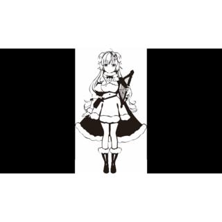 【ホロライブ】(角巻わため)カッティングステッカー(その他)