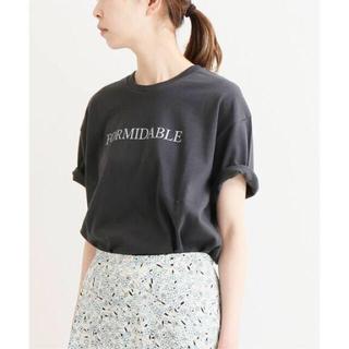 IENA - IENA ロゴプリントTシャツ
