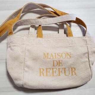 メゾンドリーファー(Maison de Reefur)のメゾンドリーファー ミニトートバッグ(ショルダーバッグ)
