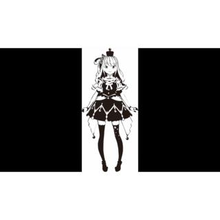 【ホロライブ】(姫森ルーナ)カッティングステッカー(その他)