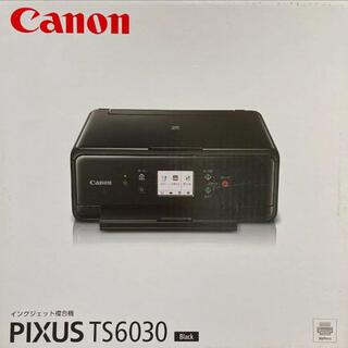 Canon - 中古品:プリンター】Canon PIXUS TS6030BK【説明書つき】