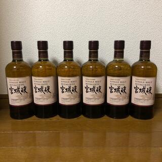 ニッカウイスキー(ニッカウヰスキー)の宮城峡 シングルモルト6本(ウイスキー)