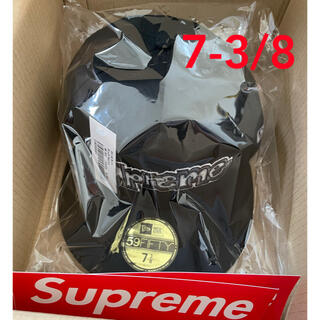 シュプリーム(Supreme)のSupreme Gonz Logo New Era Black 7-3/8(キャップ)
