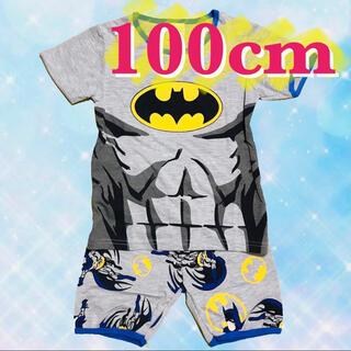バットマン パジャマ 半袖 セットアップ 男の子 100(パジャマ)