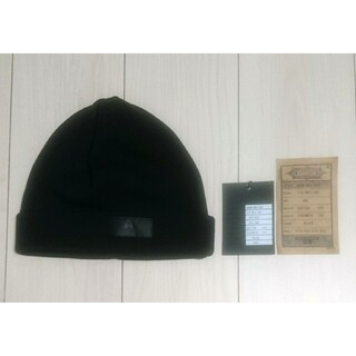 NEXUSVII - NEXUSVII ネクサスセブン ビーニー ニット帽 無地 黒