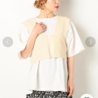 アルシーヴ(archives)のarchives 2WAYビスチェSETチュニック(Tシャツ(半袖/袖なし))