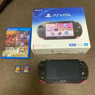PlayStation Vita - PlayStationVITAピンクブラック ソフト付き