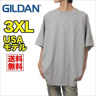 ギルタン(GILDAN)の【新品】ギルダン 半袖 Tシャツ メンズ 3XL グレー 無地(Tシャツ/カットソー(半袖/袖なし))