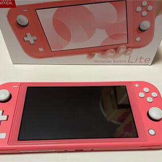ニンテンドースイッチ(Nintendo Switch)の【美品】Nintendo Switch Lite 任天堂スイッチ(家庭用ゲーム機本体)
