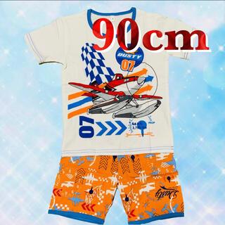 プレーンズ パジャマ 半袖 セットアップ 男の子 90(パジャマ)