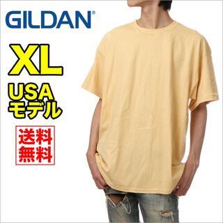 ギルタン(GILDAN)の【新品】ギルダン 半袖 Tシャツ メンズ XL ベガスゴールド 無地(Tシャツ/カットソー(半袖/袖なし))
